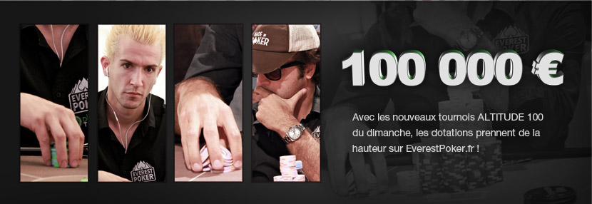 Freeroll Satellite Altitude 100 Gratuit